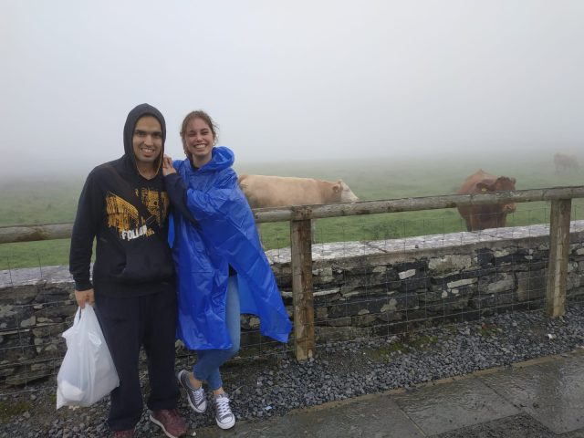 Compañeros de viaje y amigos: la historia de Cristian y Elisa